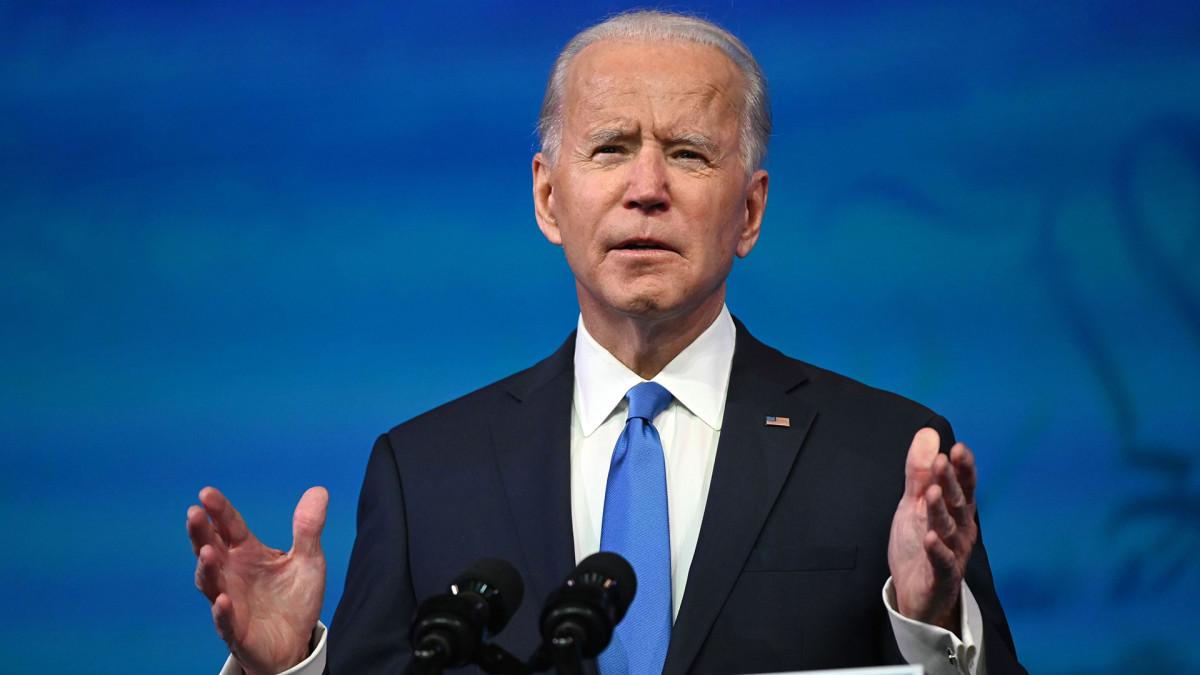 Yhdysvaltain tuleva presidentti Joe Biden kommentoi ajankohtaisia asioita ennen juhlapyhiä