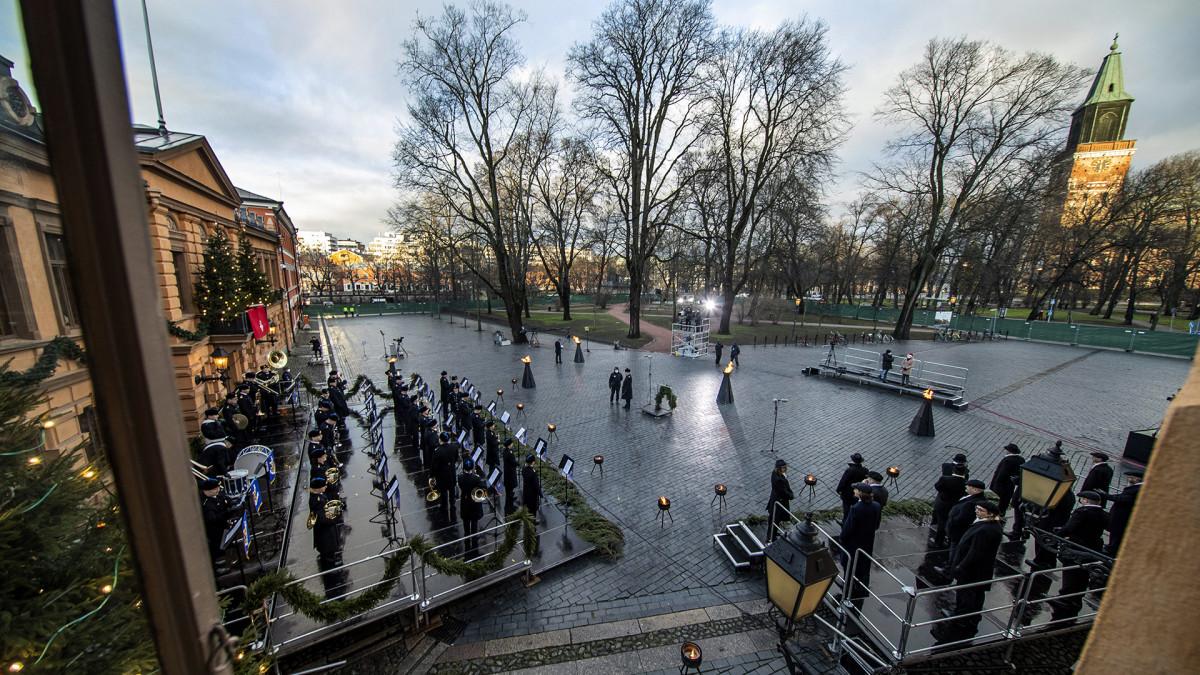 Suomen Turku julisti joulurauhan