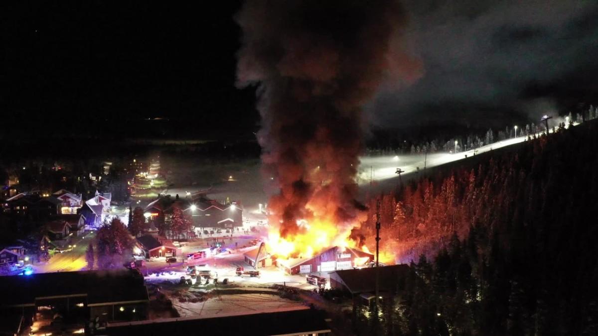 Levin tulipalosta miljoonavahingot – laskettelukausi voi jatkua häiriöttä