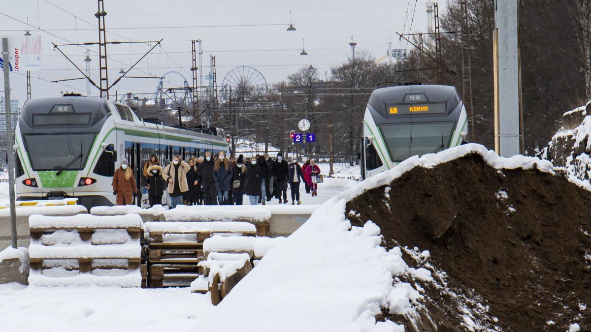 Tunnelityömaa käynnistyi Helsingissä