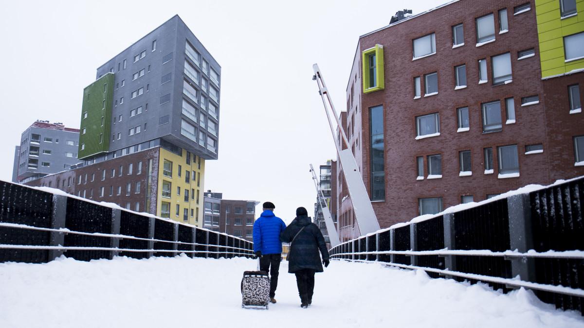Tältä näyttää 9000 euroa neliöltä maksava 56,5 m² yksiö Helsingissä