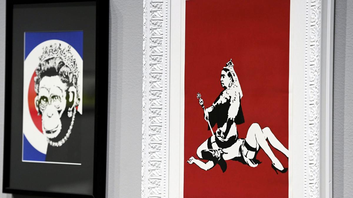 Banksyn näyttely avautuu Mäntässä