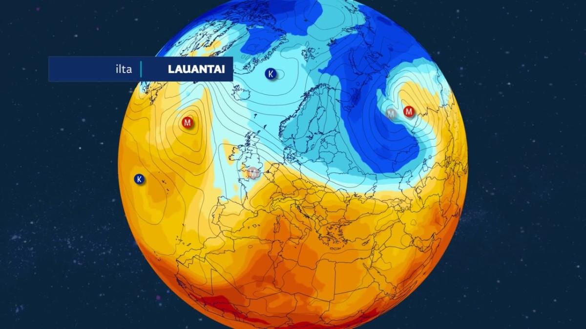 Kylmää ilmaa virtaa loppuviikolla Suomeen