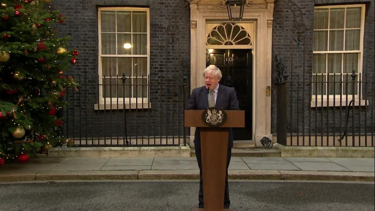 Boris Johnson korostaa brexit-sotkusta toipumista