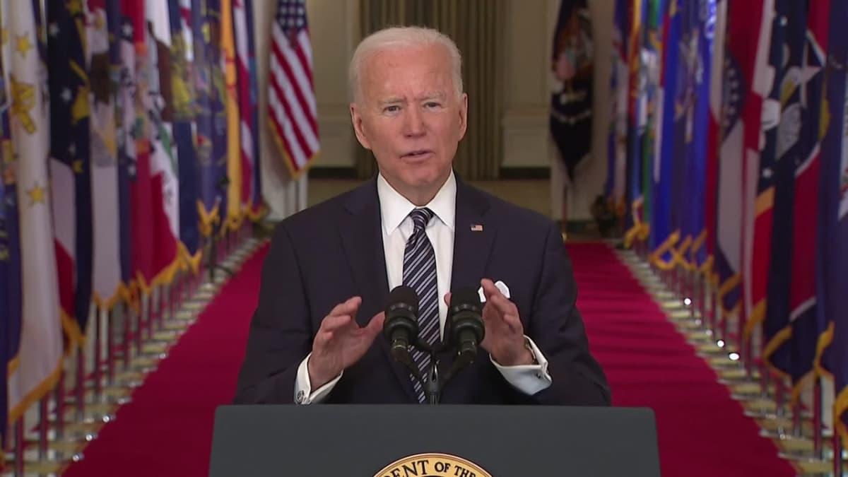 """Presidentti Joe Biden kiirehtii koronarokotuksia: """"Itsenäisyyspäivänä voi olla jo grillailua ja pientä juhlintaa"""""""