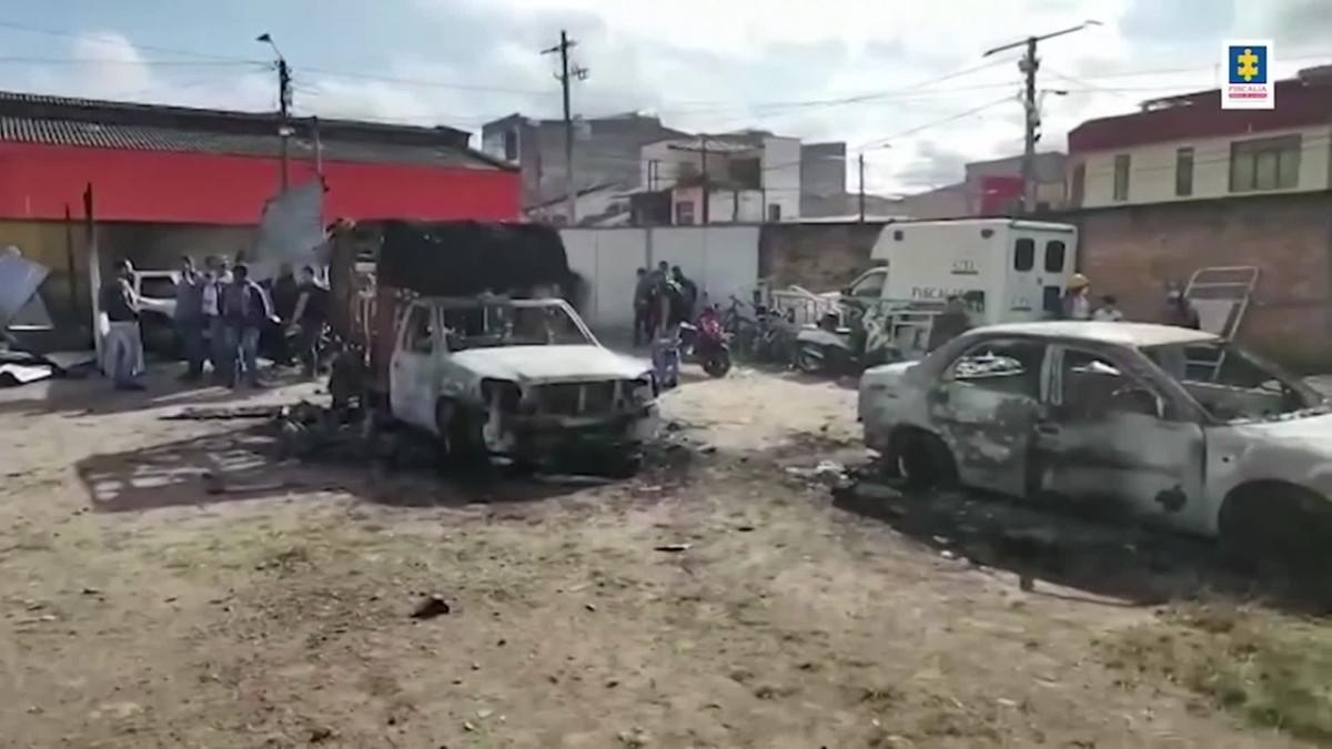 Mielenosoittajat vastustivat poliisin väkivaltaa Kolumbiassa