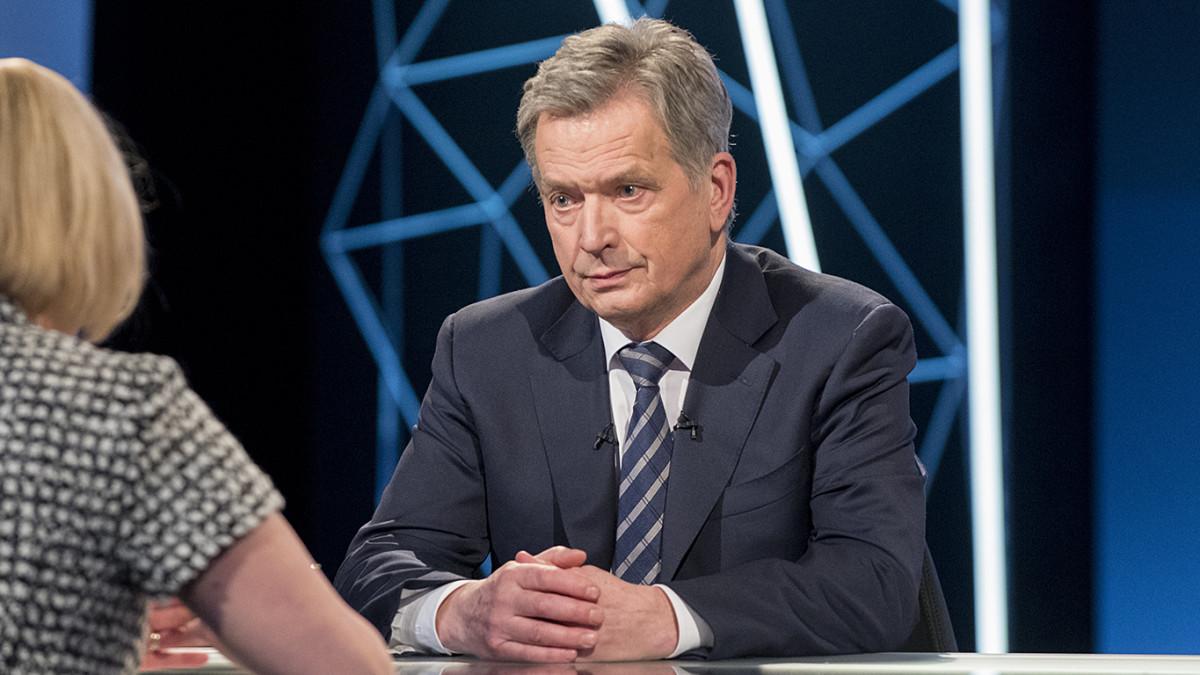 Sauli Niinistö 15.01.2018.