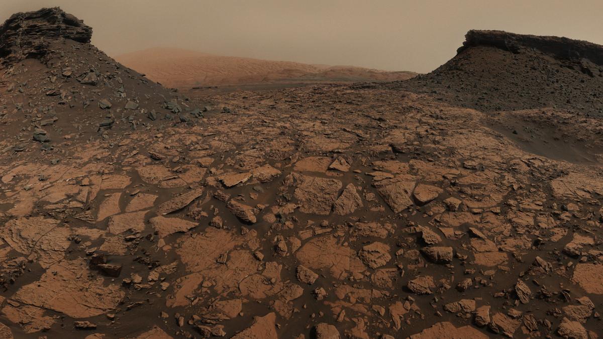 Marsin pintaa
