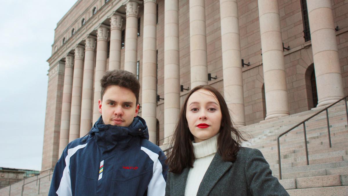 Aleksei Nikolajev ja Anni Kuutti.