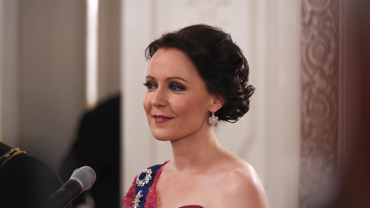 Tasavallan Presidentin Itsenäisyyspäivän Juhlavastaanotto vuonna 2015, Jenni Haukio
