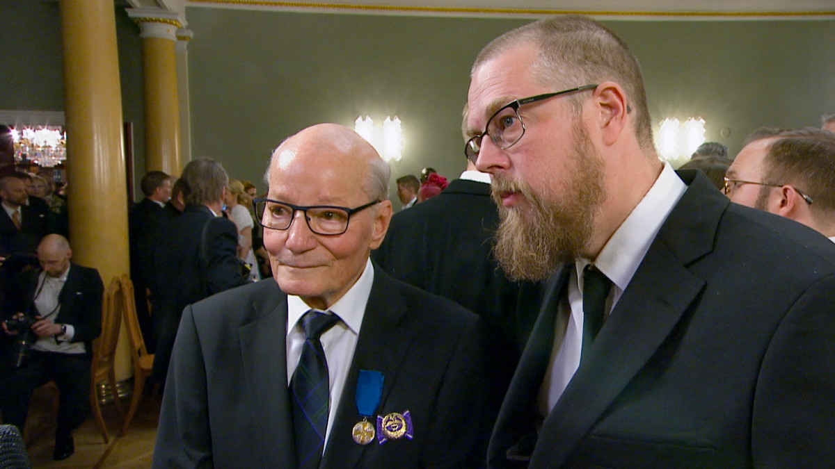 Gunnar Yliharju ja Tuomas Kyrö
