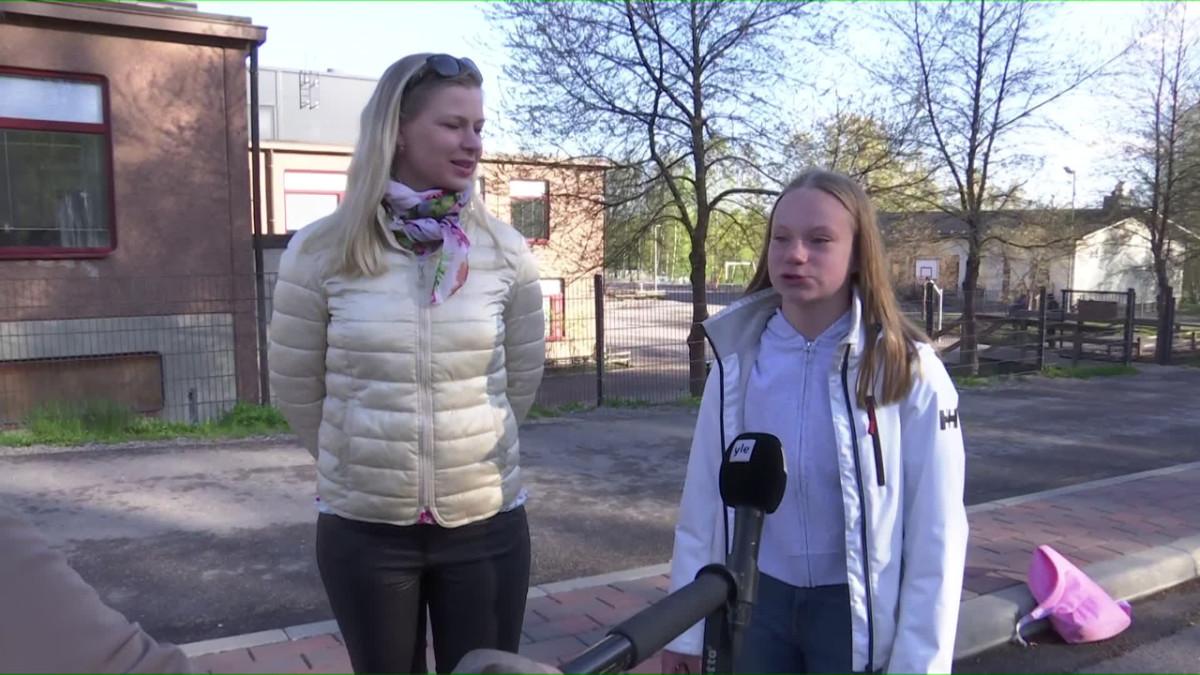 Raisa ja Lilli Lindgren.
