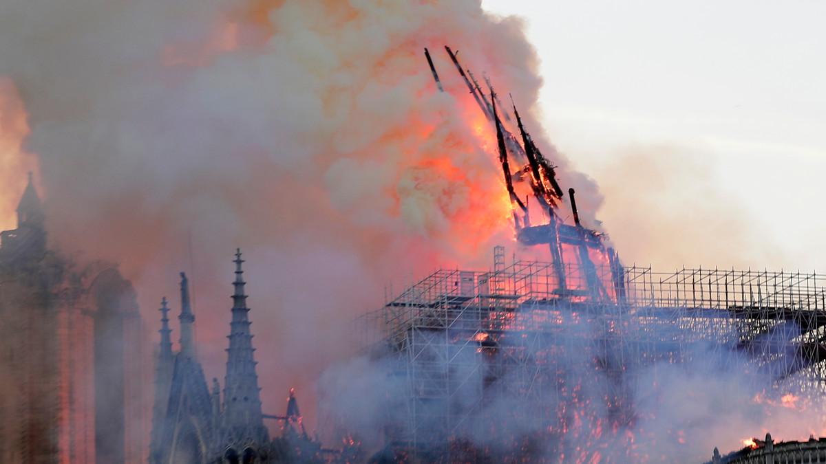 Notre Damen tulipalo 16.4.2019