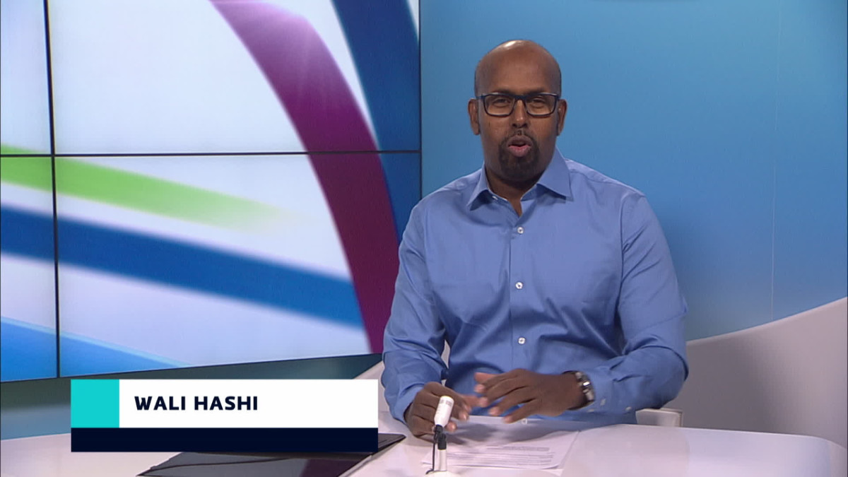 Wali Hashi lukee somalinkielisiä uutisia