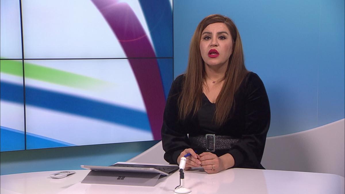 Sarah Peltonen lukee kurdinkielisiä koronauutisia