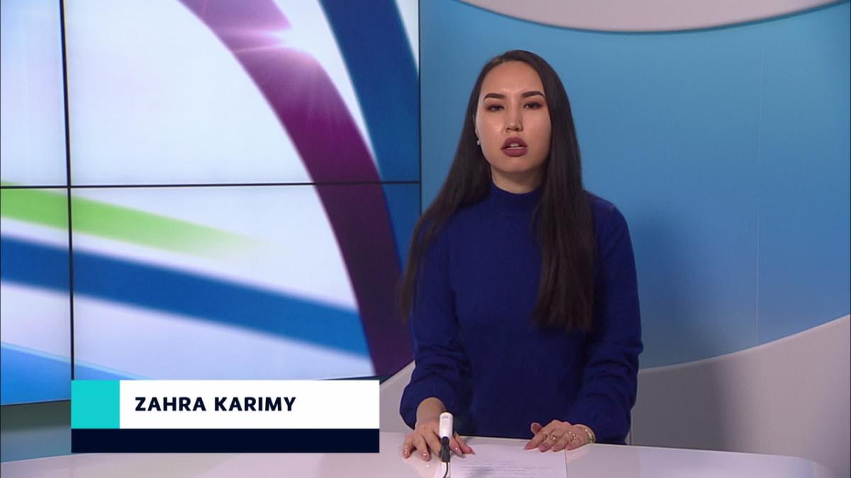 Zahra Karimy uutistenlukija