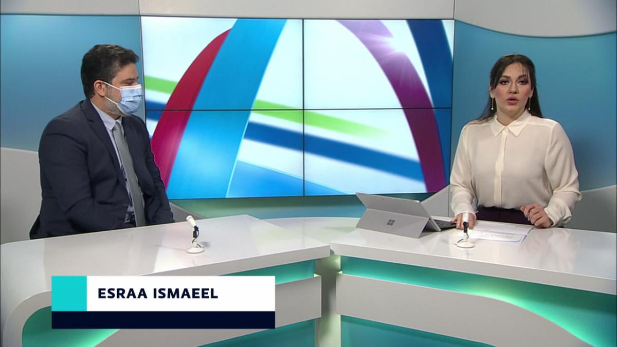 Esraa Ismaeel ja Haider Al-Hello