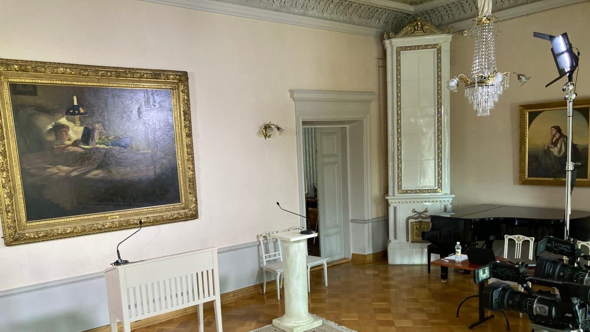 Pohjois-Pohjanmaan alueen korona-aiheinen tiedotustilaisuus 3. maaliskuuta 2021.
