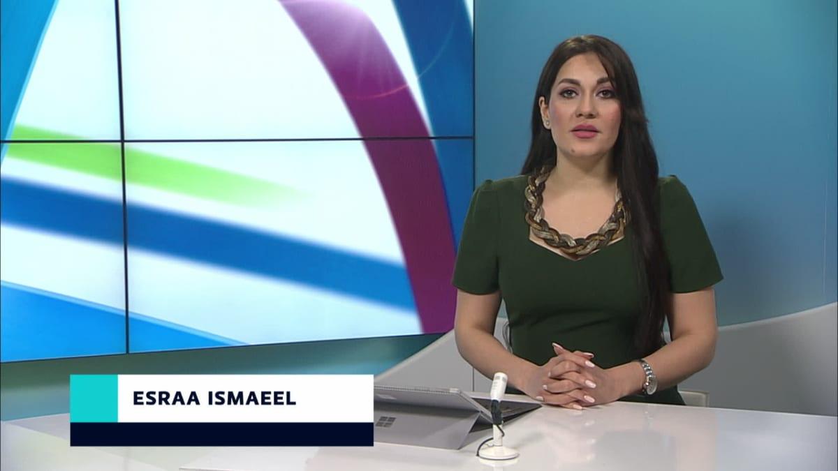 uutistenlukija Esraa Ismaeel