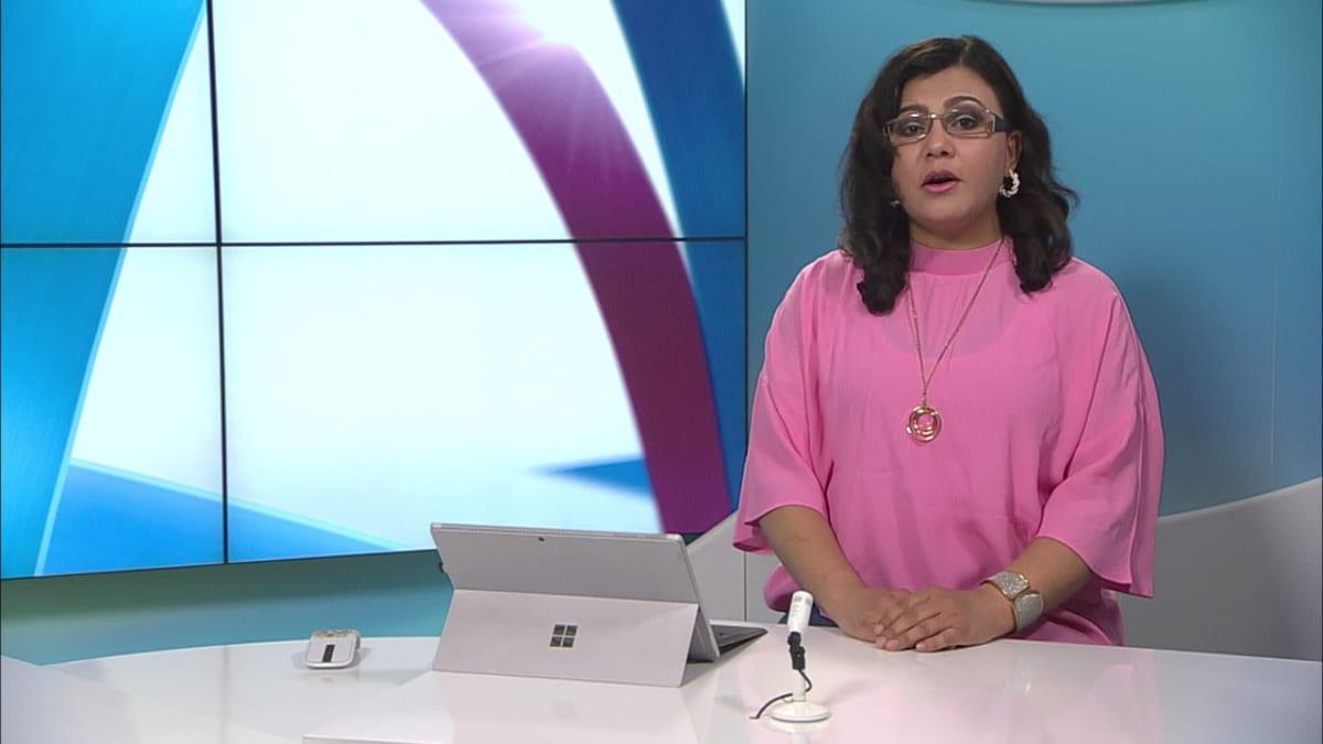 uutistenlukija Zahra Dehqanzada