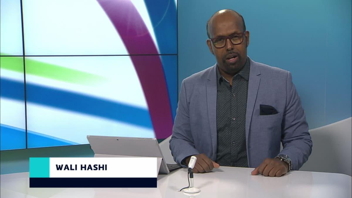 uutistenlukija Wali Hashi