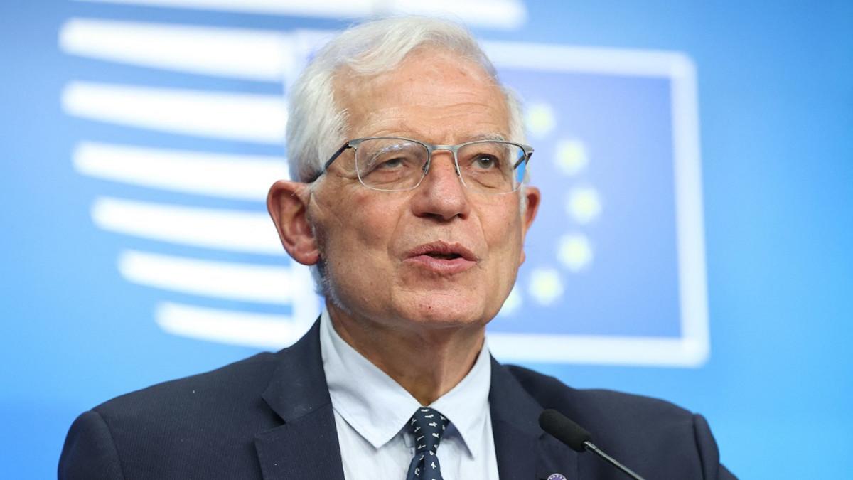 Kuvassa EU:n ulkoopoliittinen edustaja Josep Borrell.