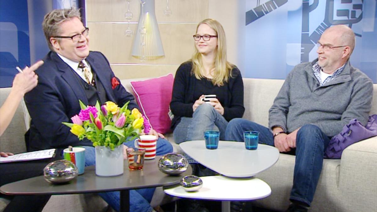 Jan Erola, Anu Silfverberg ja Kalle Isokallio