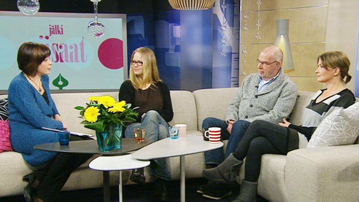 Anu Silfverberg, Kalle Isokallio ja Jeanette Björkqvist mukana ohjelmassa 27. tammikuuta.