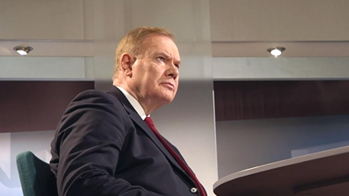 Paavo Lipponen Ykkösaamun vieraana lauantaina 12. helmikuuta 2011.