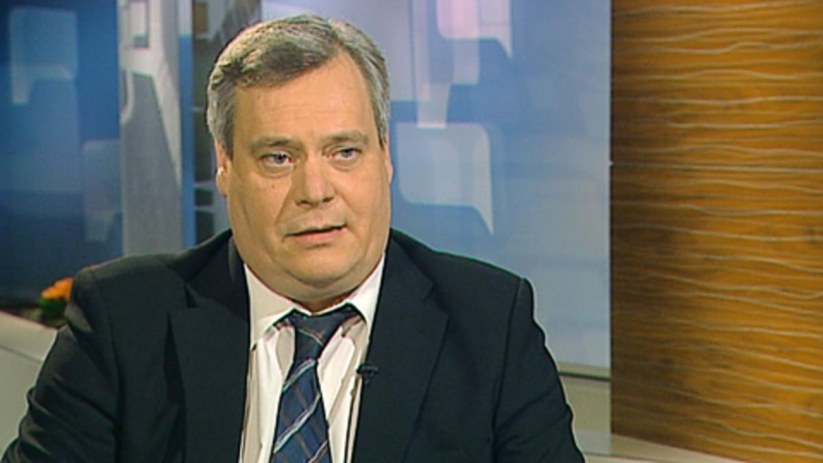 Ammattiliitto Pron puheenjohtaja Antti Rinne