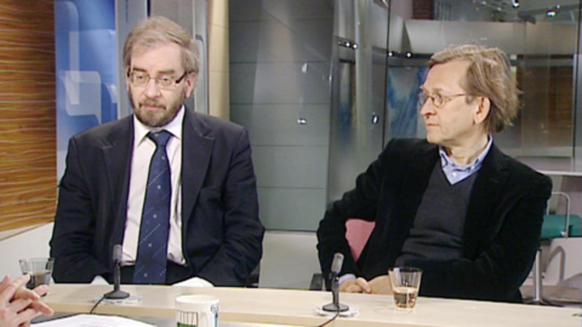 Jaakko Hämeen-Anttila ja Martti Koskenniemi