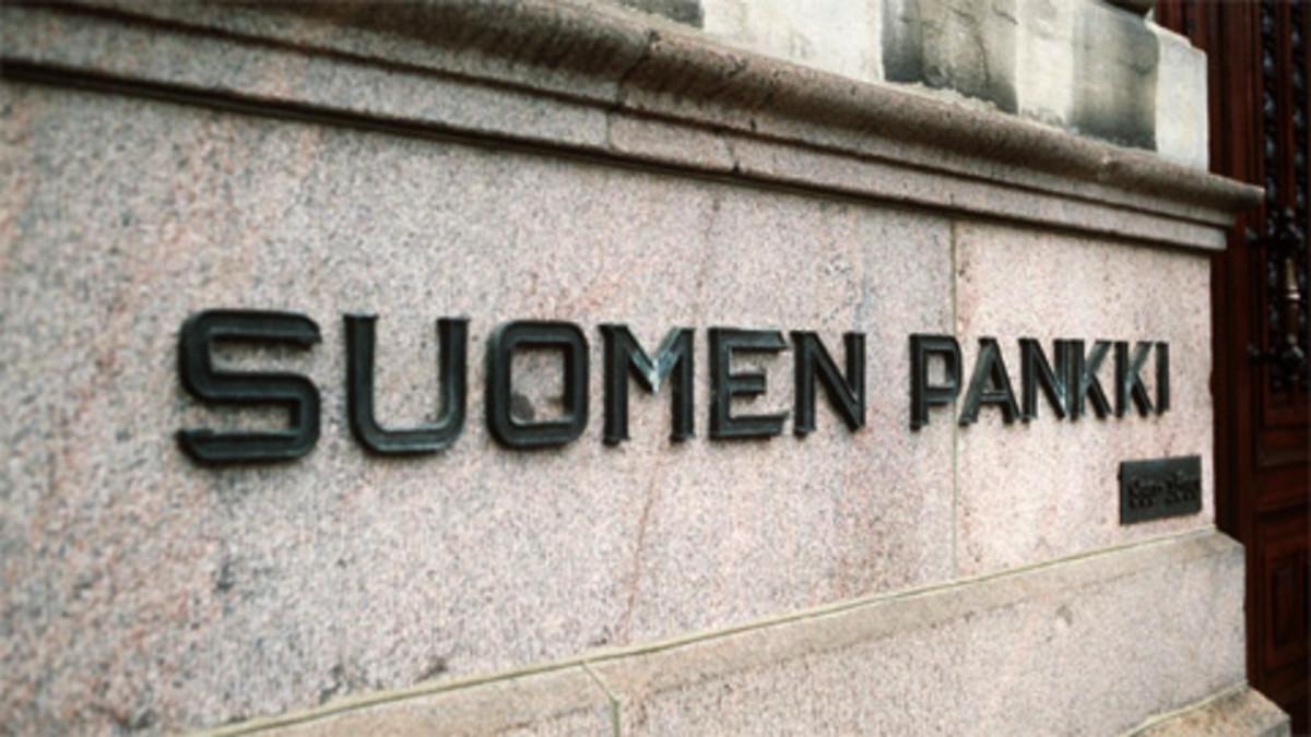 Suomen Pankin pääkonttori Helsingissä.