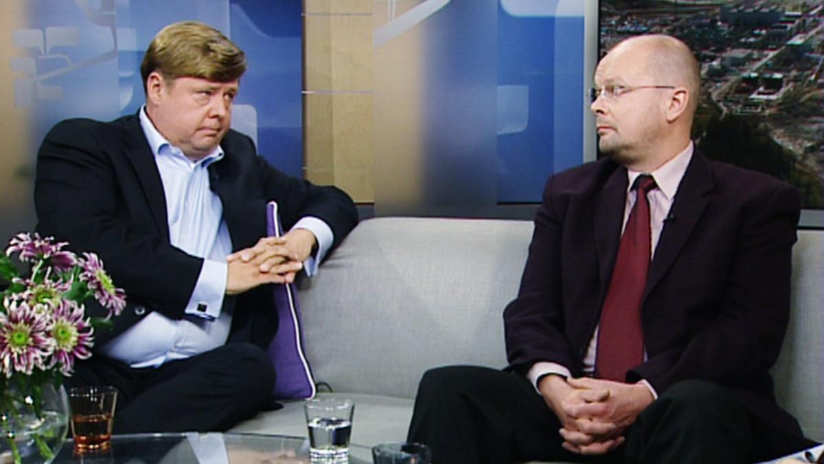 Pekka Perä (vas.) ja Ari Kananen