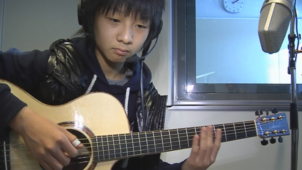 Nuori kitaravirtuoosi Sungha Jung