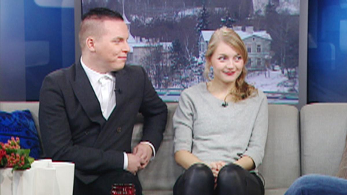 Vesa Silver ja Jenni Rotonen