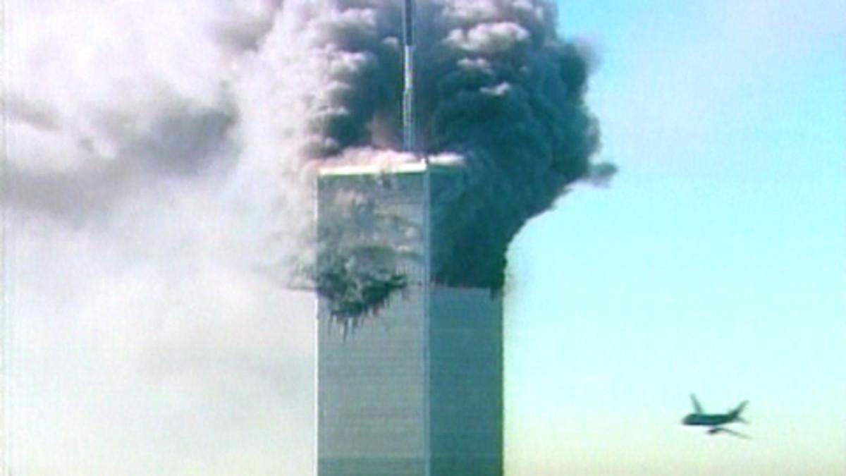 Savuava WTC-torni