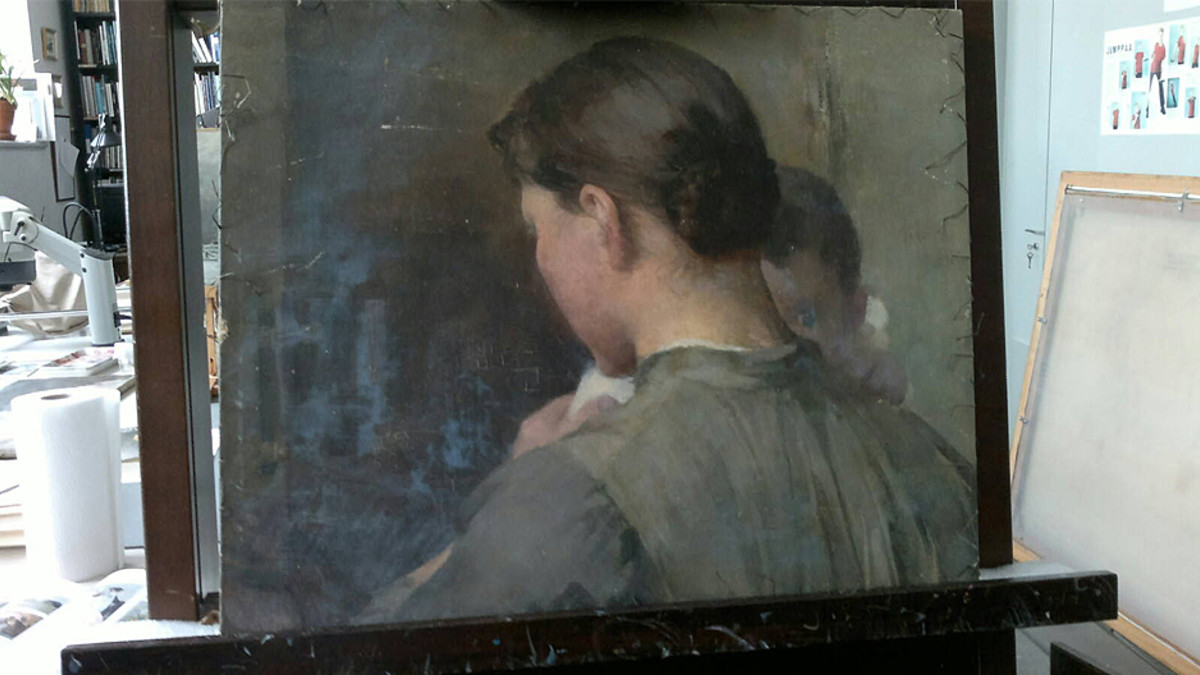 Helene Schjerfbeckin maalaus.