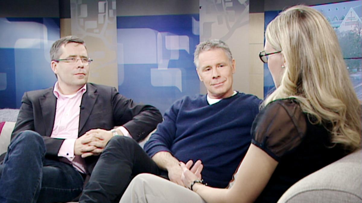 Pekka Pohjakallio ja Saku Tuominen