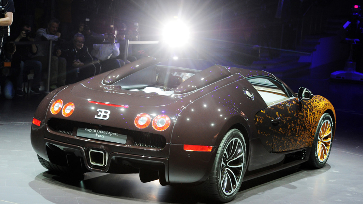 Bugatti Grand Sport Venet.