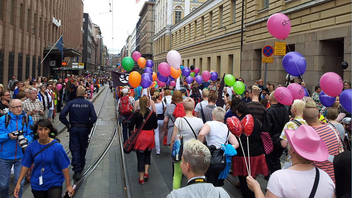 Pride Kulkue Helsinki