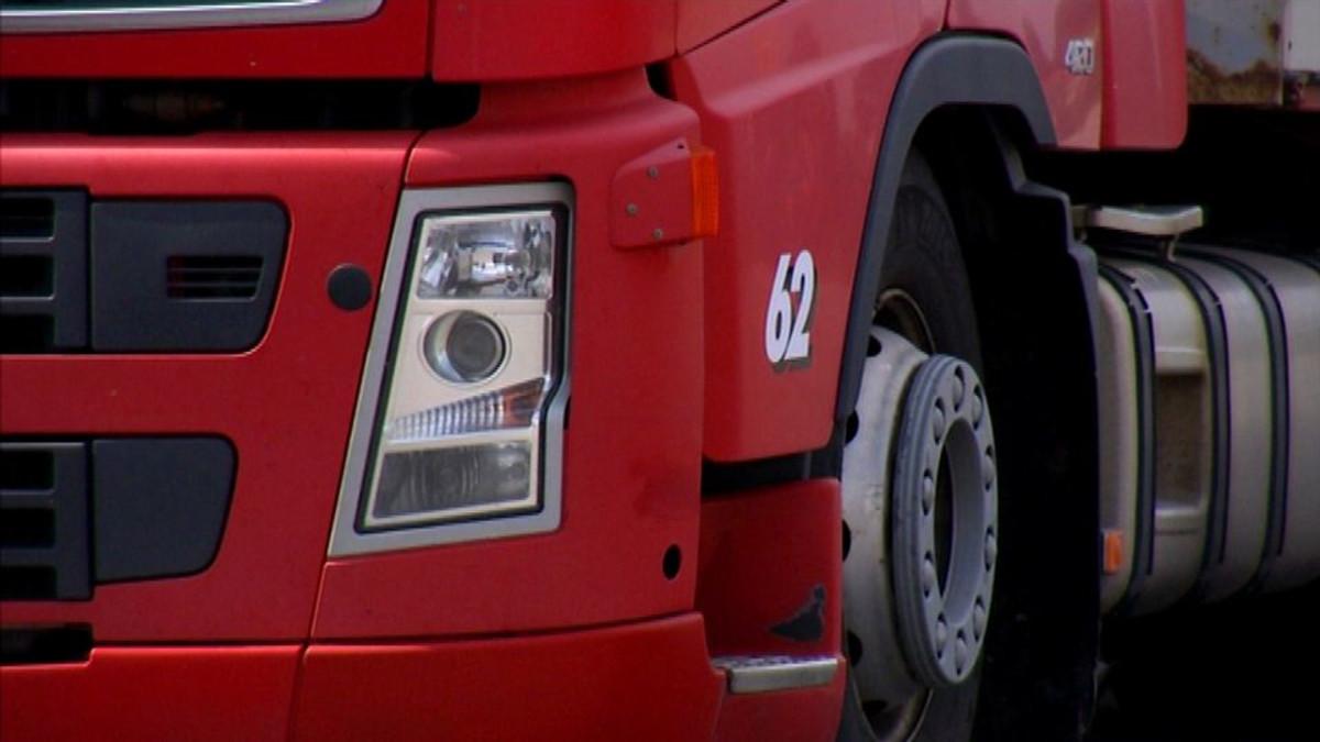 Liikenne rekka kuorma-auto Lappeenranta scania