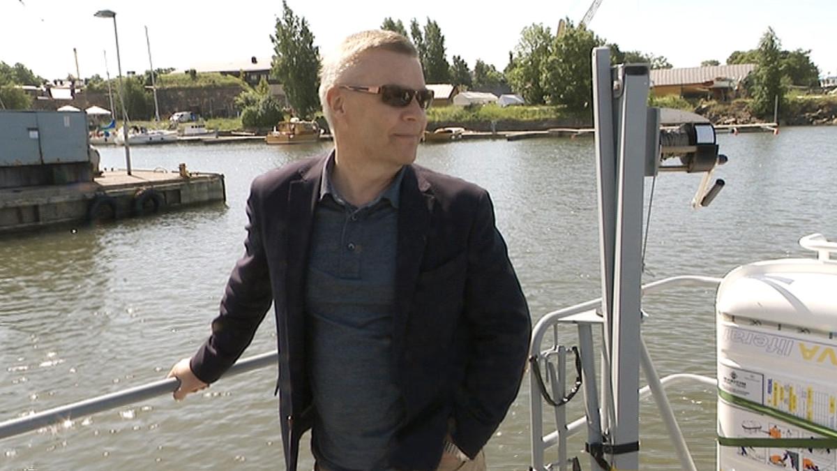 EU:n rajavalvontavirasto Frontexin pääjohtaja Ilkka Laitinen.