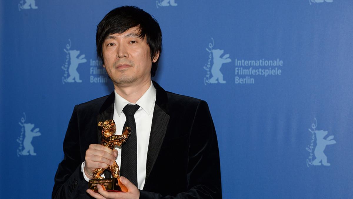 Palkittu kiinalaisohjaaja Diao Yinan Berlinalessa 15. helmikuuta 2014.