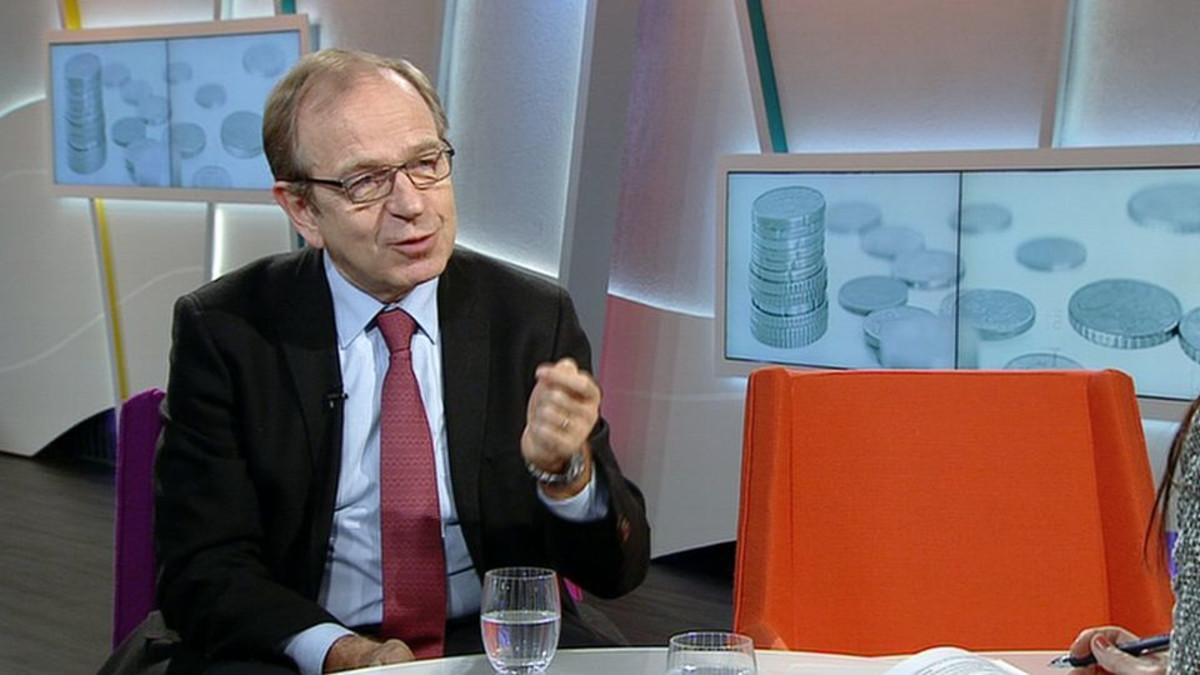 Suomen Pankin pääjohtaja Erkki Liikanen.