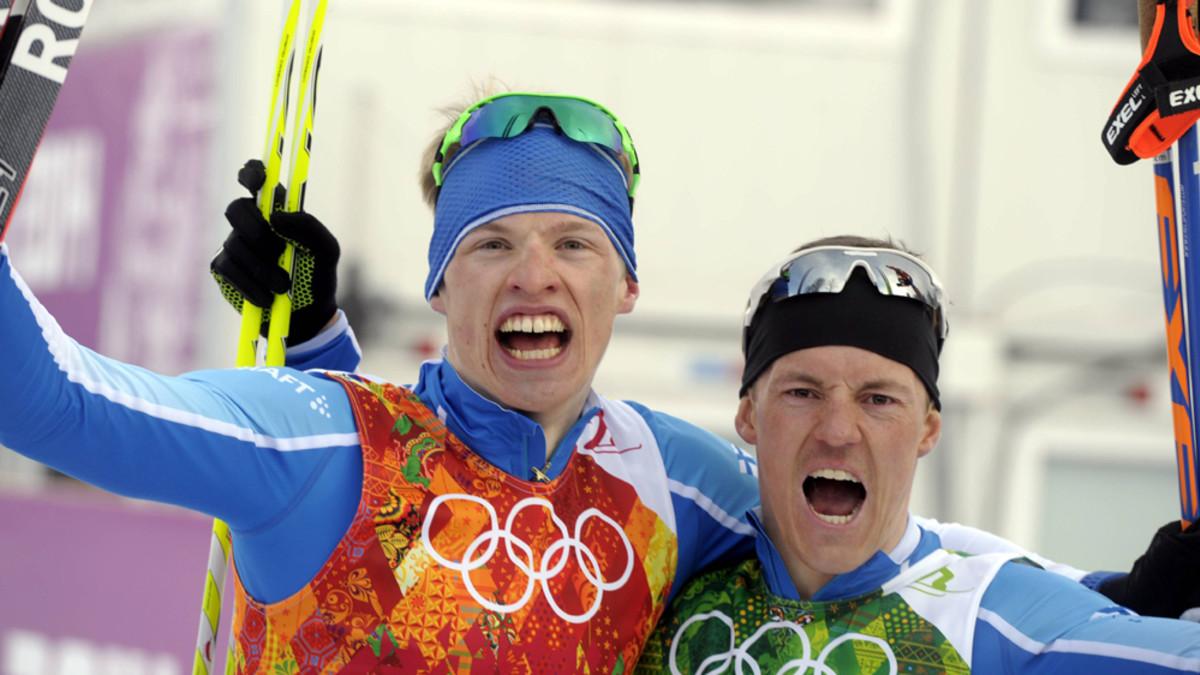 Sami Jauhojärvi ja Iivo Niskanen kuvassa