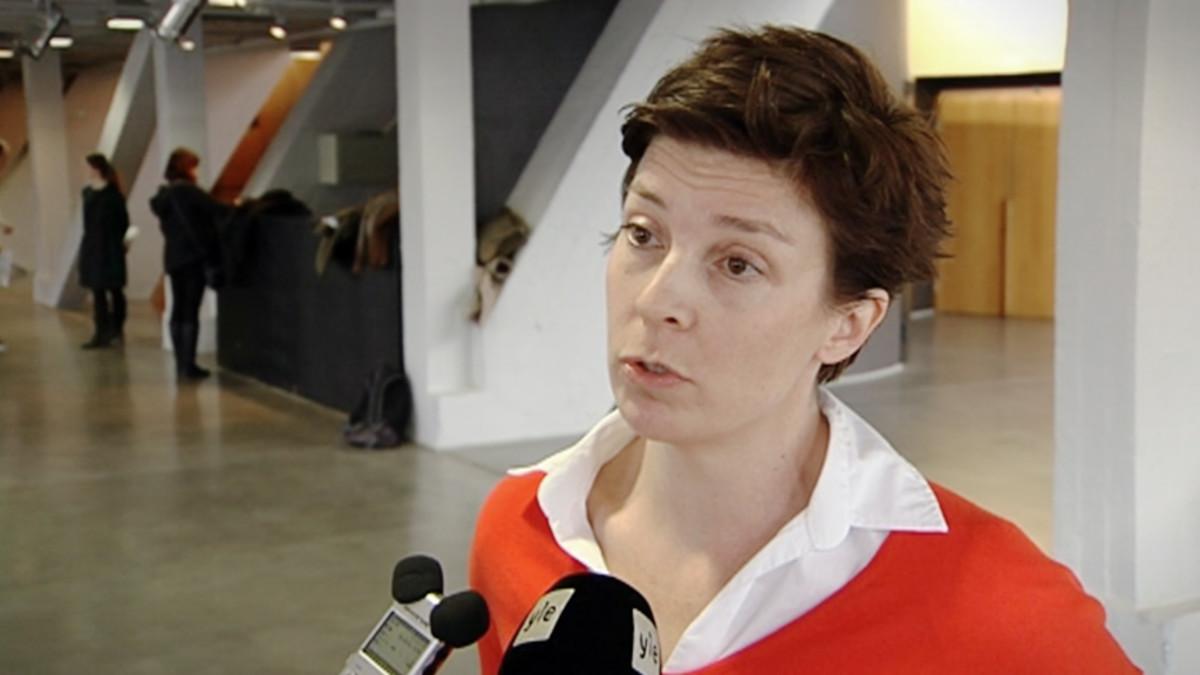 Helsinkifilmin toimitusjohtaja, tuottaja Miia Haavisto.