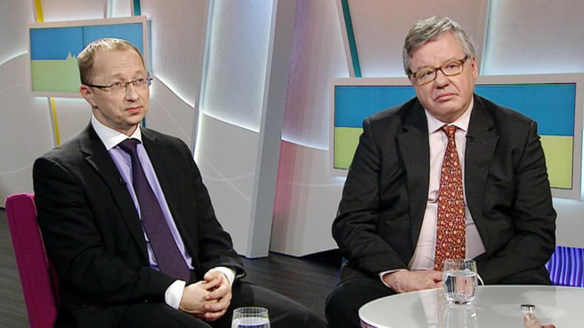 Vesa Engdahl ja Tohtori Pekka Sutela