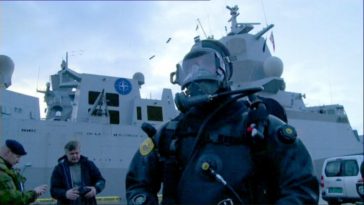 Naton harjoitukset Norjassa.
