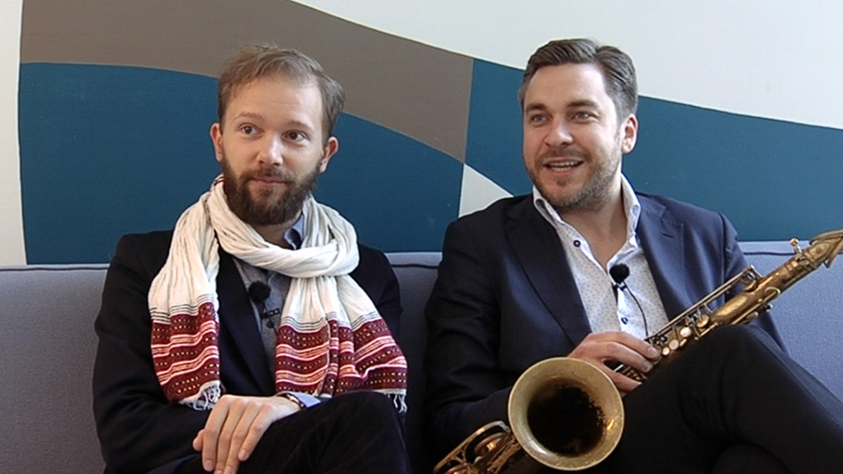 Valtteri Pöyhönen ja Timo Lassy.