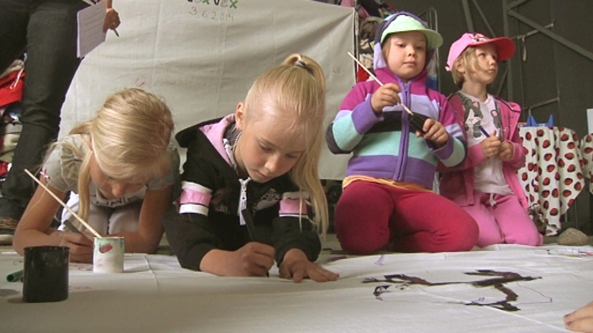 Forssalaislapset tuunaavat tekstiilejä TexVexissä